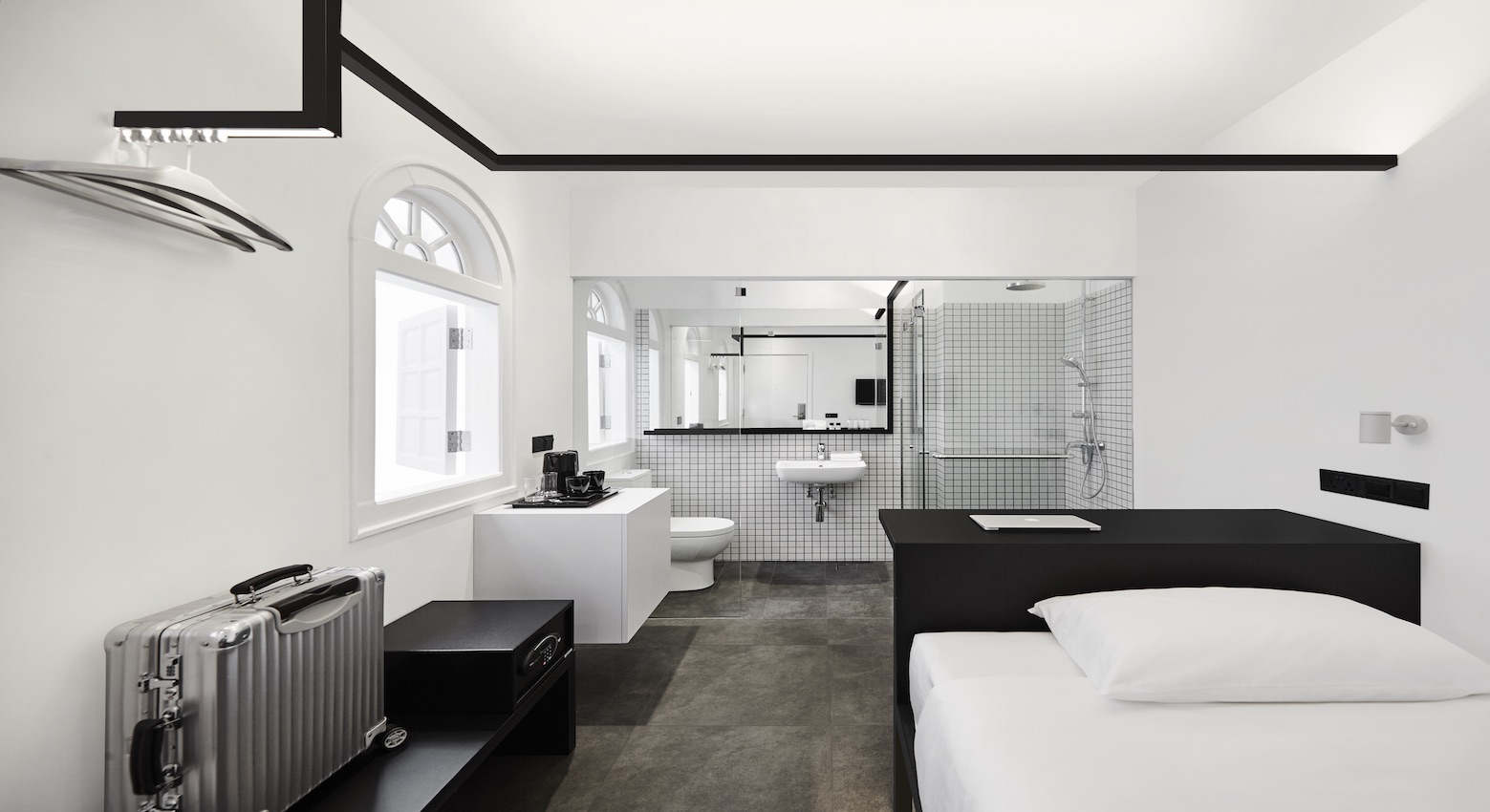 8 Minimalist Hotels that Will Satisfy Any OCD Staycation-er