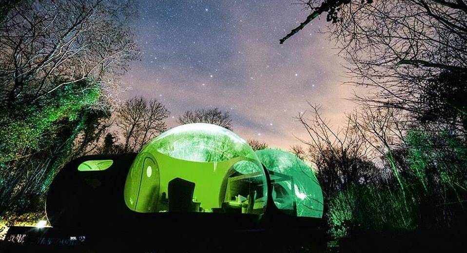 7 Amazing Glamping Bubbles You Should Stay At Once in Your Life