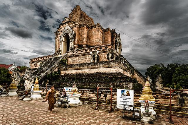 Chiang Mai Wat Suan Dok temple
