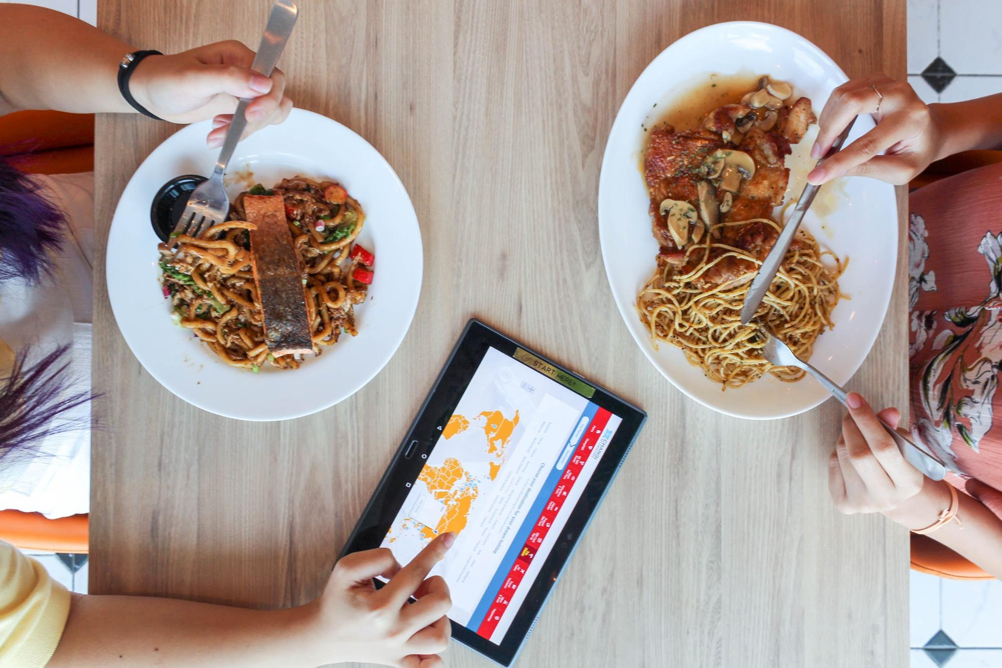 Eat and plan trips at HyfeCafe using the Trip Planner app