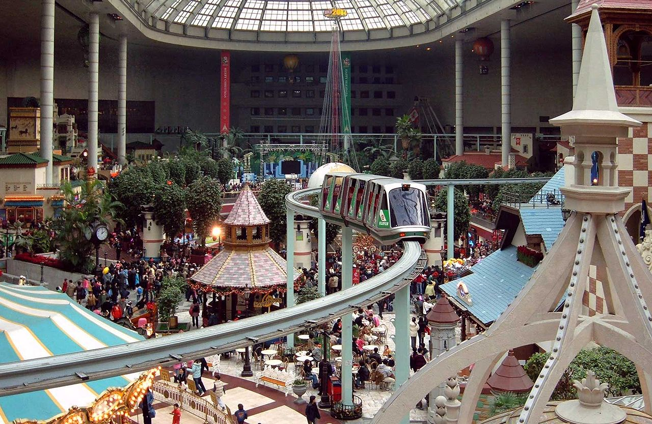 Lotte World Indoor Theme Park South Korea