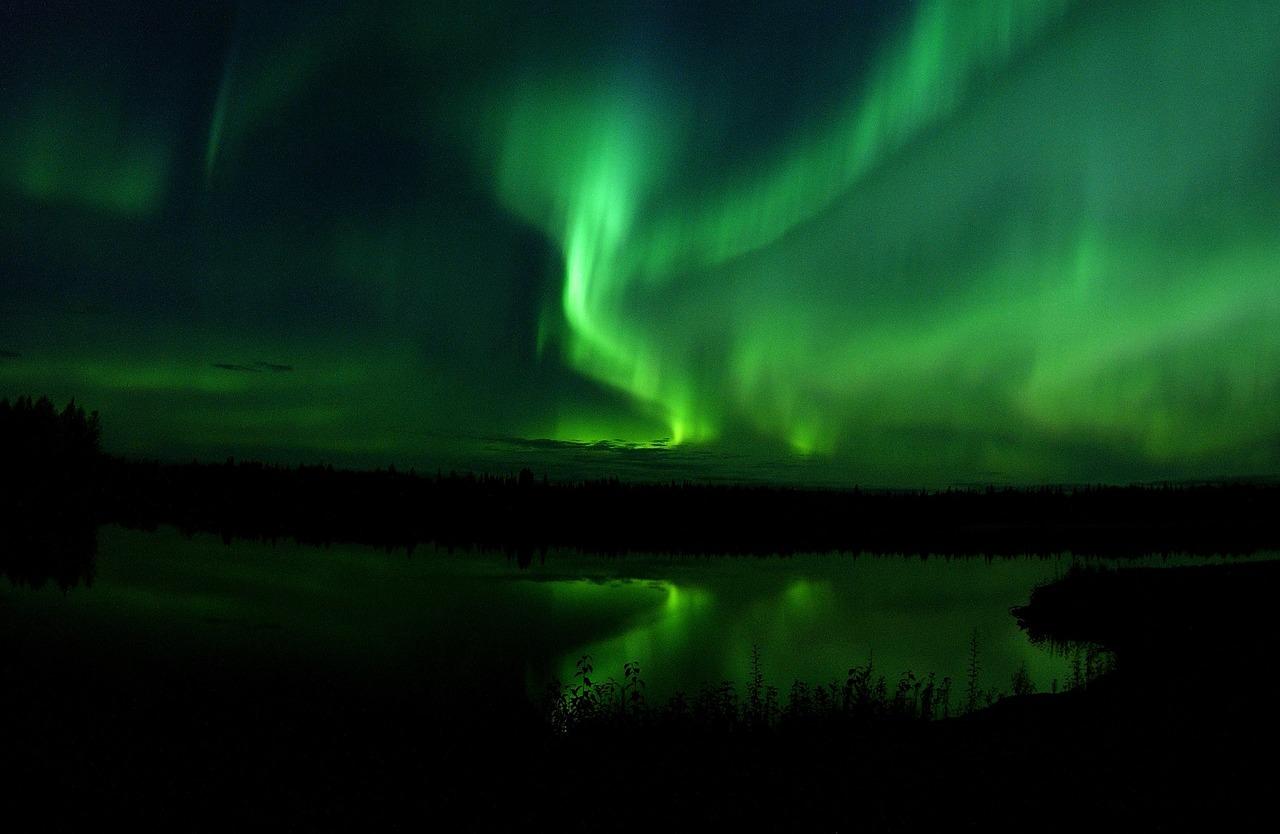 Northen lights in Alaska