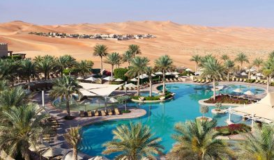 desert camping middle east