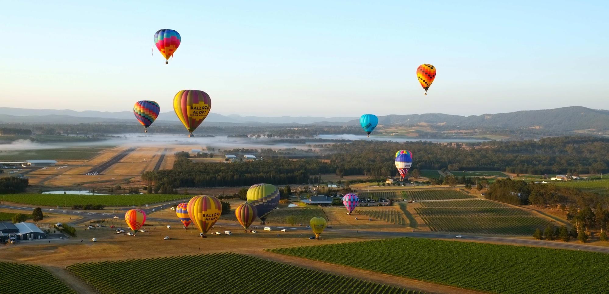 Balloon Aloft Hunter Valley Balloon Fiesta