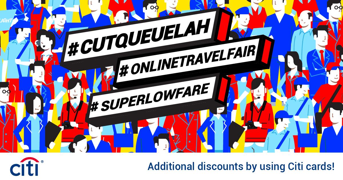 Trip.com #CutQueueLah Online Travel Fair