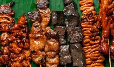 street food in the Philippines