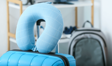 It Turns Out, This Is How You're Supposed To Be Wearing Travel Pillows