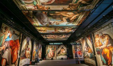 Sistine Chapel exhibits