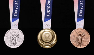 The Phones and Electronics That Make Up the Olympics 2020 Medals