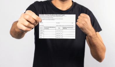 Stop Posting Your Vaccination Cards — It Could Be Used Against You