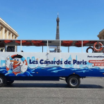 Tour the French Capital Aboard the Hybrid or Amphibious Bus in Paris